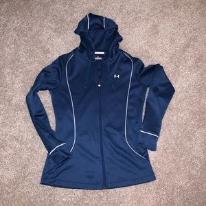 Blue Under Armour Zip Hoodie